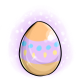 Purple Easter Glowing Egg