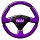 Purple Steering Wheel