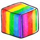 Rainbow Sugar Cube