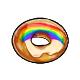 Rainbow Doughnut