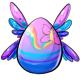 Rainbow Fairy Easter Egg