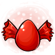 Red Candy Glowing Egg