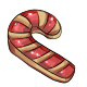Red Candycane Cookie