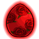 Roses Glowing Egg