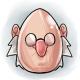 Scrooge Glowing Egg