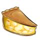 Slice of Gourmet Banana Pie