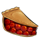Slice of Gourmet Cherry Pie