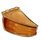 Slice of Gourmet Pumpkin Pie