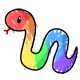 Rainbow Snek
