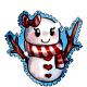 Snow Girl Stamp