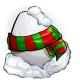 Snowman Glowing Egg