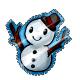 Snow Boy Stamp