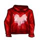 Splattered Heart Sweater