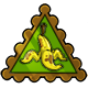 Banana Peel Stamp