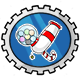 Candy Cannon Stamp