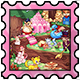 Candyland Stamp
