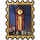 Clocktower Stamp