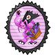 Evil Bunny Stamp