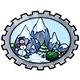 Mountain of Biala Stamp