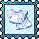 Snow Costume Stamp