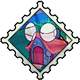 Sunglasses Shop Stamp