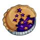 Starry Blueberry Pie