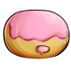 Strawberry Cream Doughnut