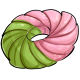 Strawberry Matcha Cruller