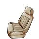 Tan Front Seat
