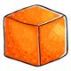 Tangerine Sugar Cube