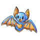 Blue Bat Cookie