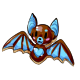 Brown Bat Cookie