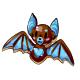 Brown Bat Cookie