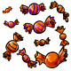 Funsize Orange Candies