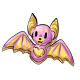 Pink Bat Cookie