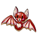 Red Bat Cookie