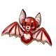 Red Bat Cookie