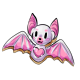 White Bat Cookie