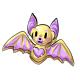 Yellow Bat Cookie