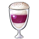 Tiramisu Berry Latte