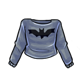 Bat Cropped Sweater