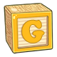 Toy Block G