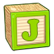Toy Block J