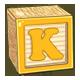Toy Block K