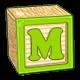 Toy Block M