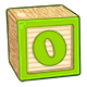 Toy Block O