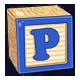 Toy Block P