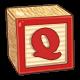 Toy Block Q