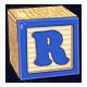 Toy Block R