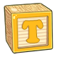 Toy Block T